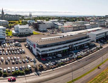 Bækistöðvar Heklu er við Laugaveg í Reykjavík.