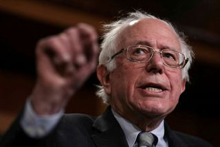 Bernie Sanders, öldungadeildaþingmaður Demókrataflokksins í Vermont, ætlar að taka þátt í forvali flokksins fyrir forsetakosningarnar ...