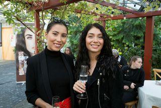Hulda Margrét Sigurðardóttir og Anna Lára Orlowska.
