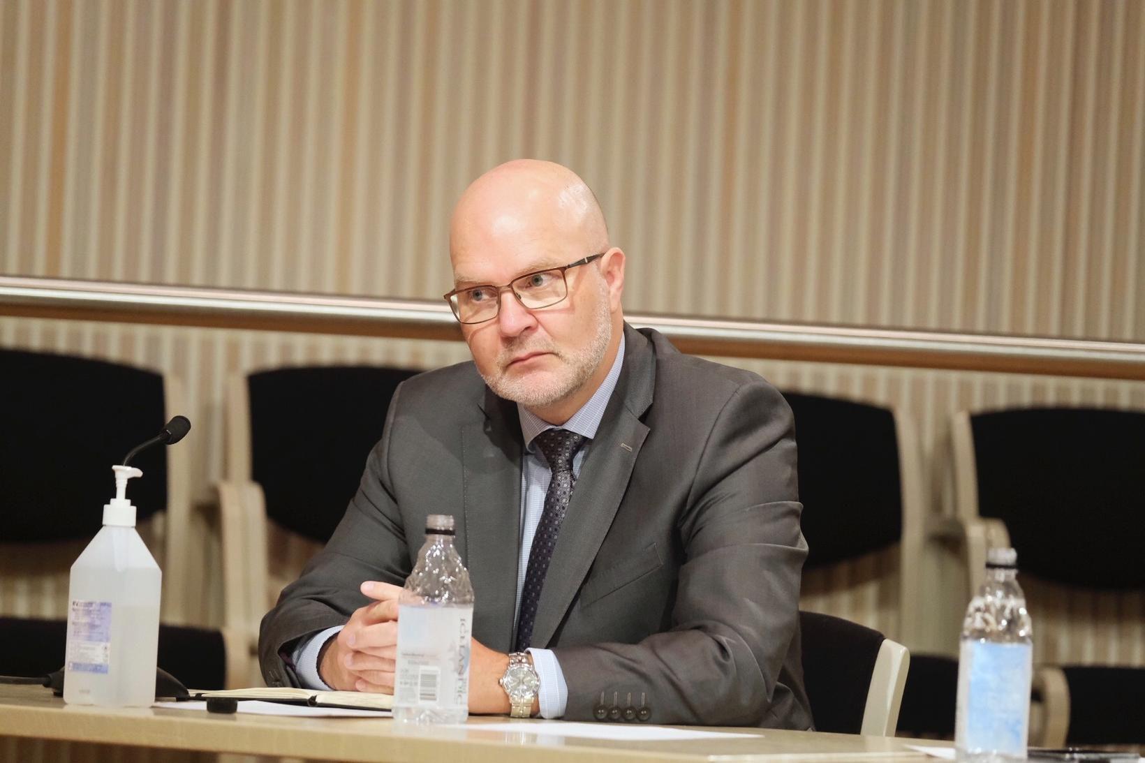 Þórarinn G. Pétursson, aðalhagfræðingur Seðlabankans.