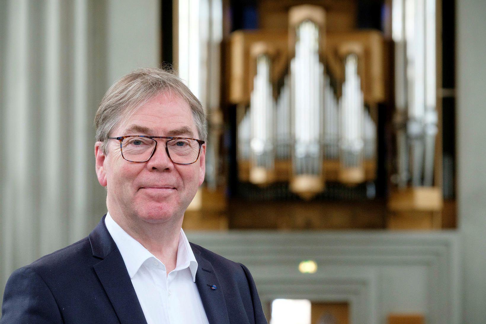 Hörður Áskelsson.