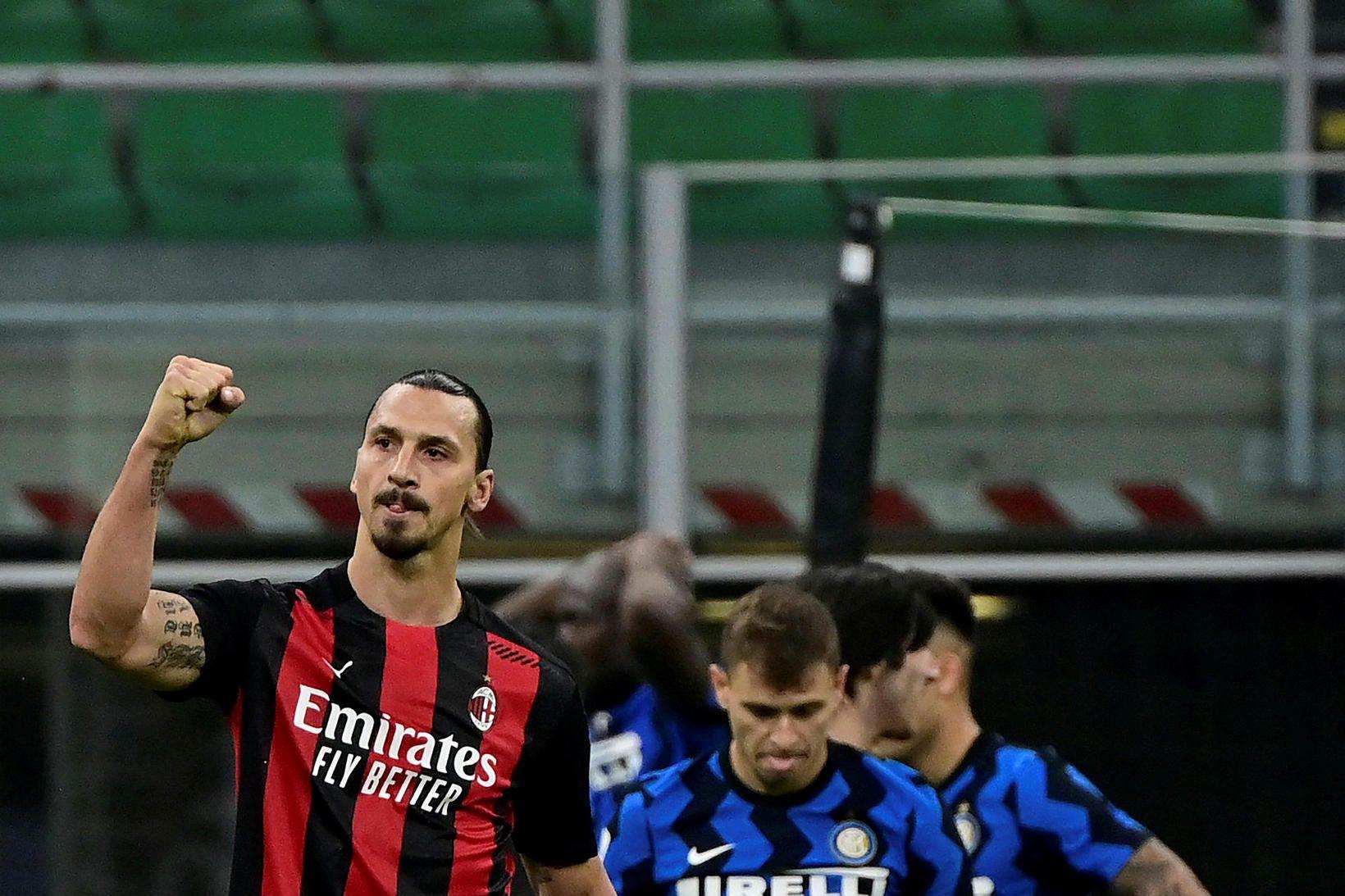 Zlatan Ibrahimovic var hetja AC Milan.