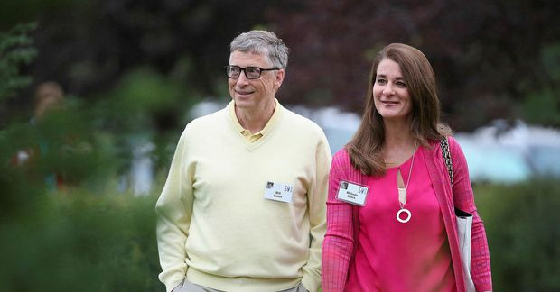 Bill og Melinda Gates.