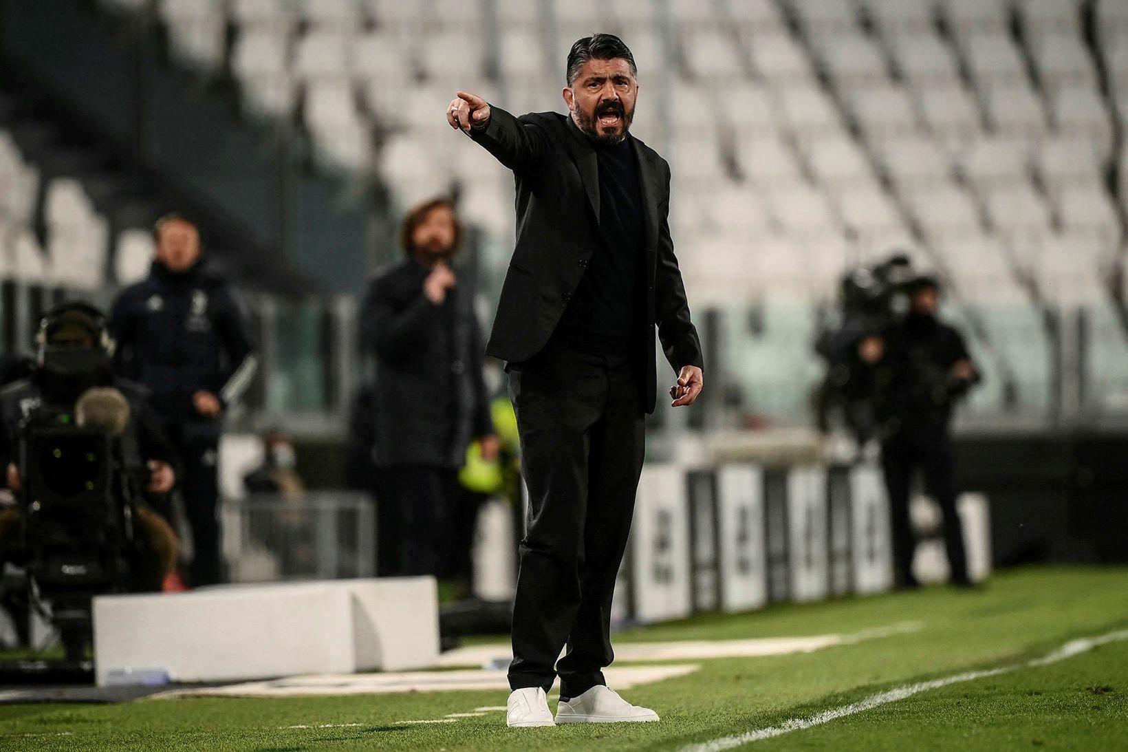 Gennaro Gattuso mun ekki stýra Fiorentina á komandi tímabili.
