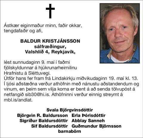 Baldur Kristjánsson
