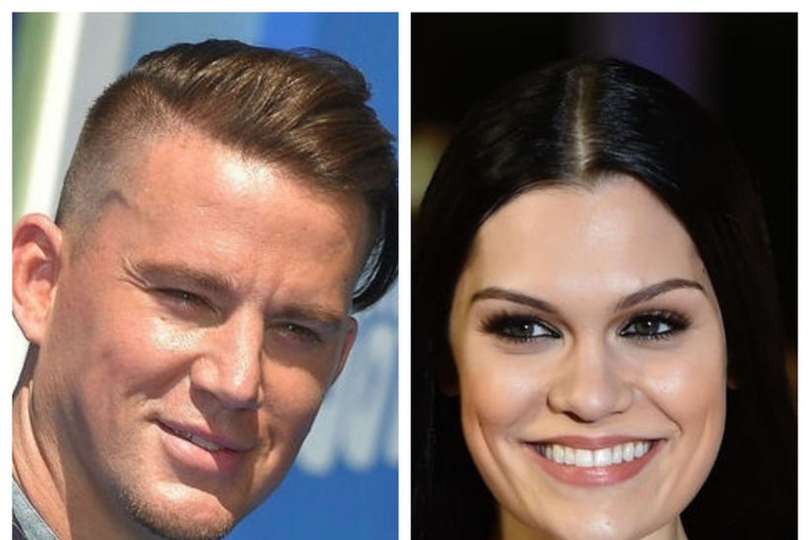 Channing Tatum og Jessie J eru aftur hætt saman.