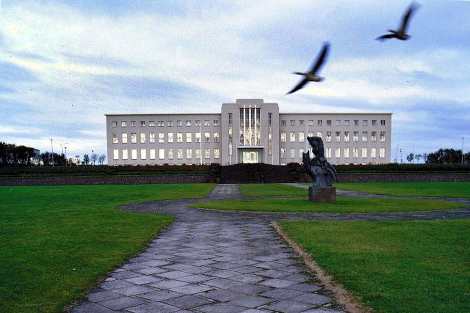 Háskóli Íslands.