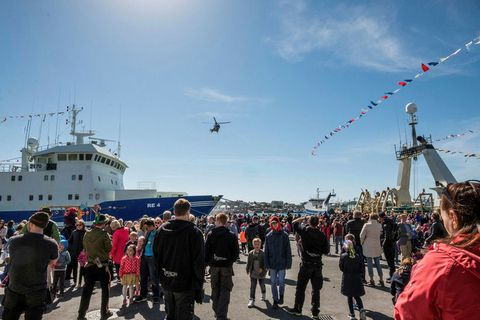 The Festival of the Sea takes place all weekend and offers plenty of activities for all ages.