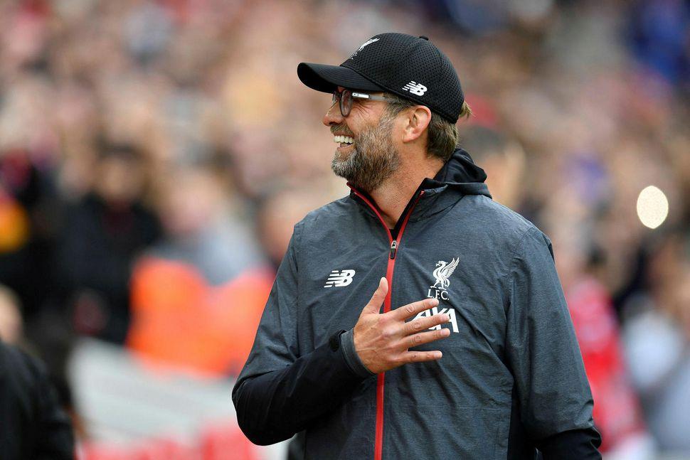 Jürgen Klopp hefur stýrt Liverpool til sigurs í öllum átta ...