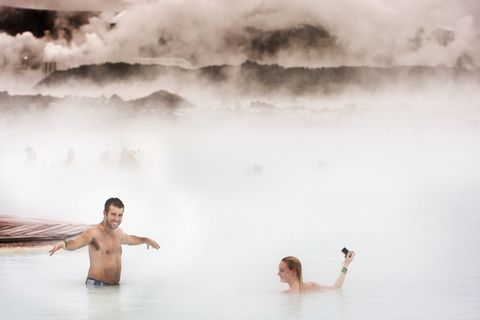 Iceland's famous Blue Lagoon is one of the companies to have thrived within the Park.
