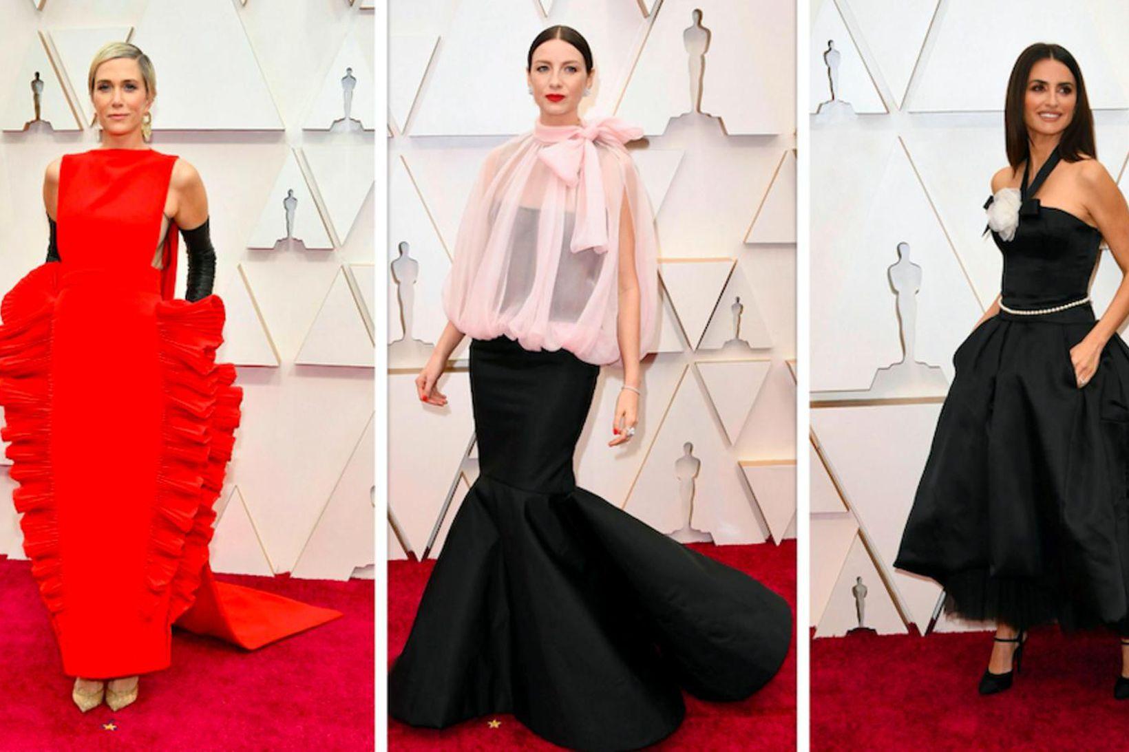 Kristen Wiig, Caitriona Balfe og Penelope Cruz voru ekki með …