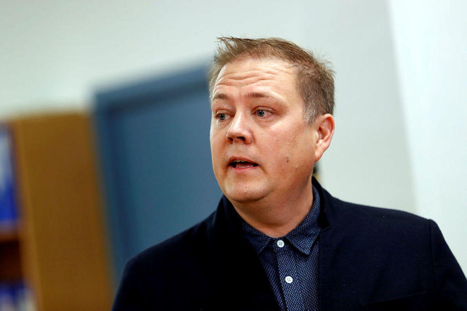 Breki Karlsson formaður Neytendasamtakanna.