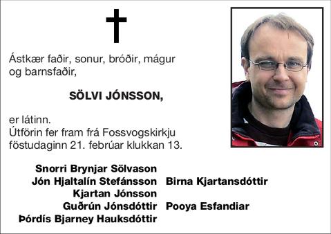Sölvi Jónsson,