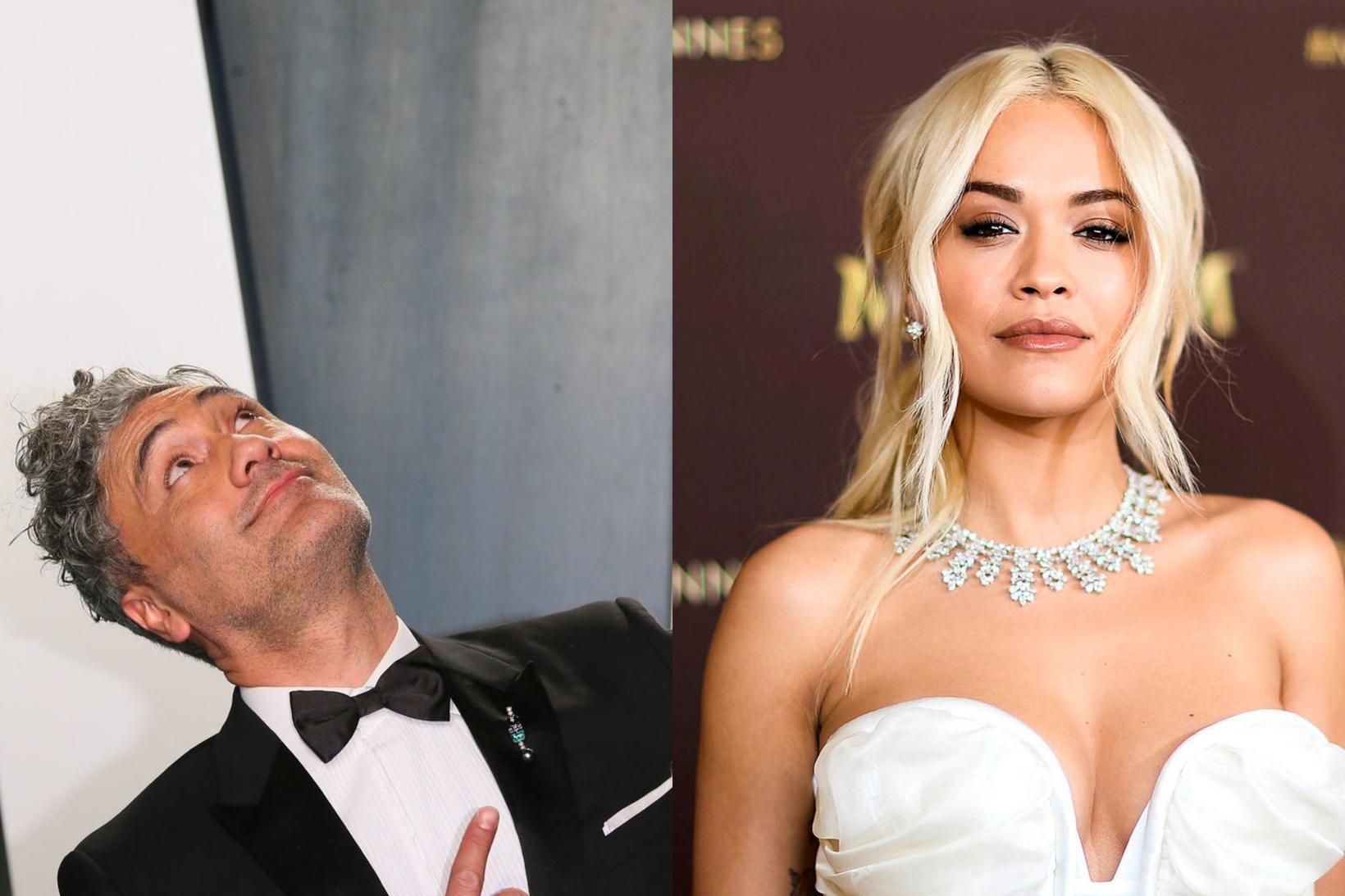 Taika Waititi og Rita Ora eru nýtt par.