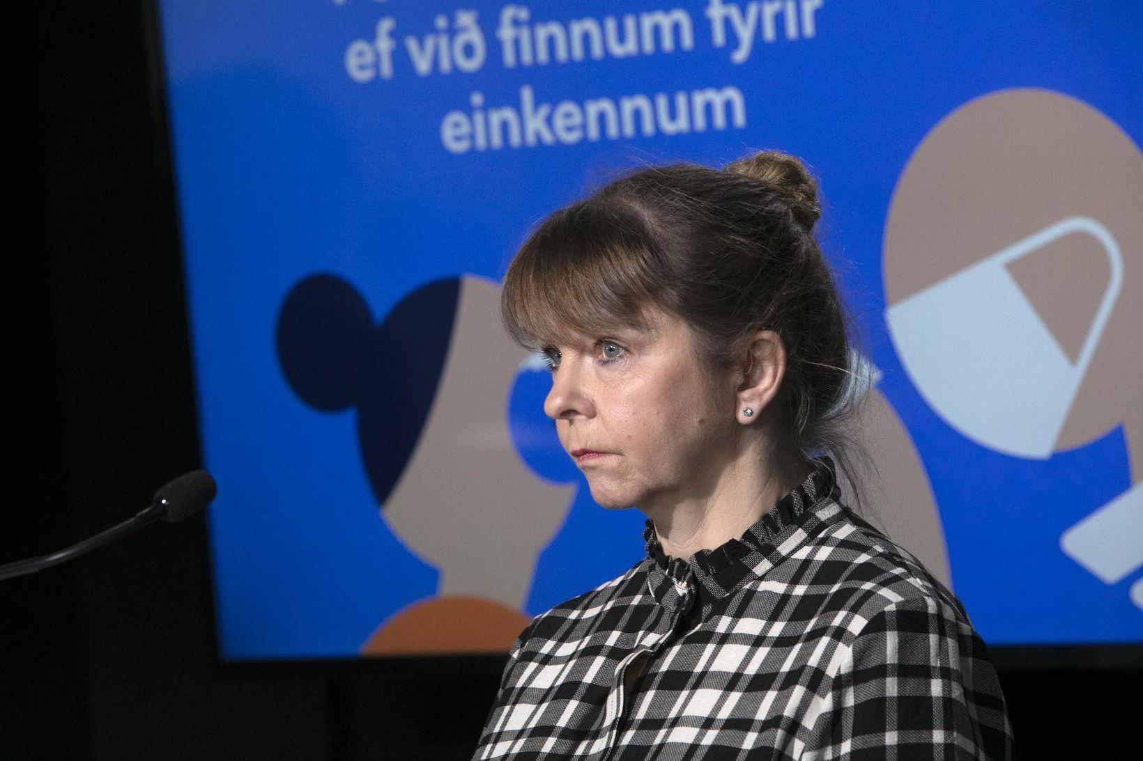 Unnur Sverrisdóttir, forstjóri Vinnumálastofnunar.
