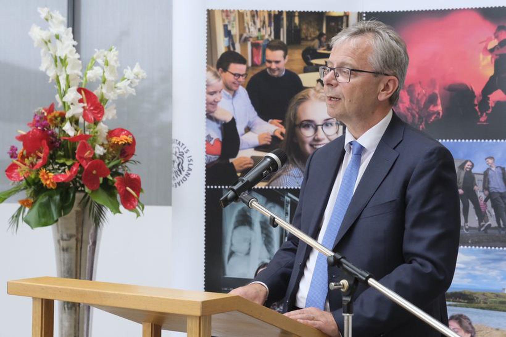 Jón Atli Benediktsson, rektor Háskóla Íslands.