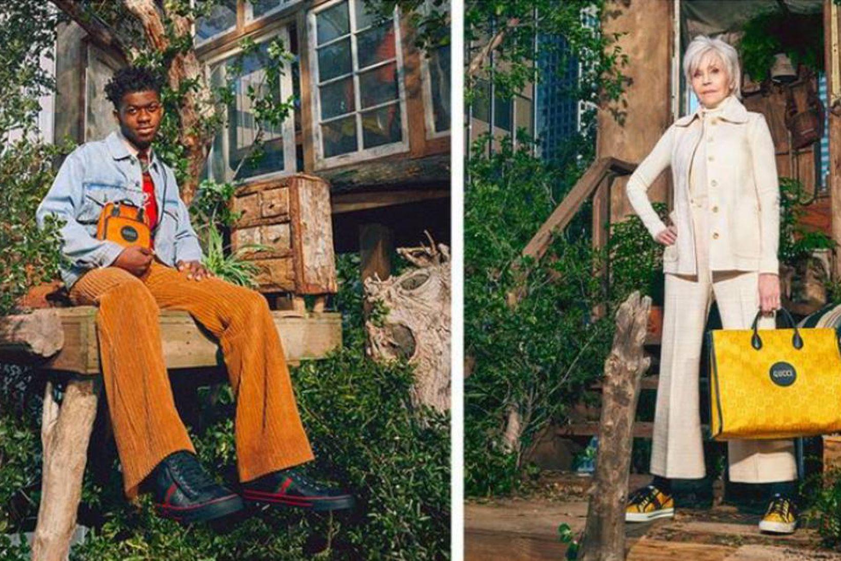 Lil Nas X, Jane Fonda, David de Rothschild og King …