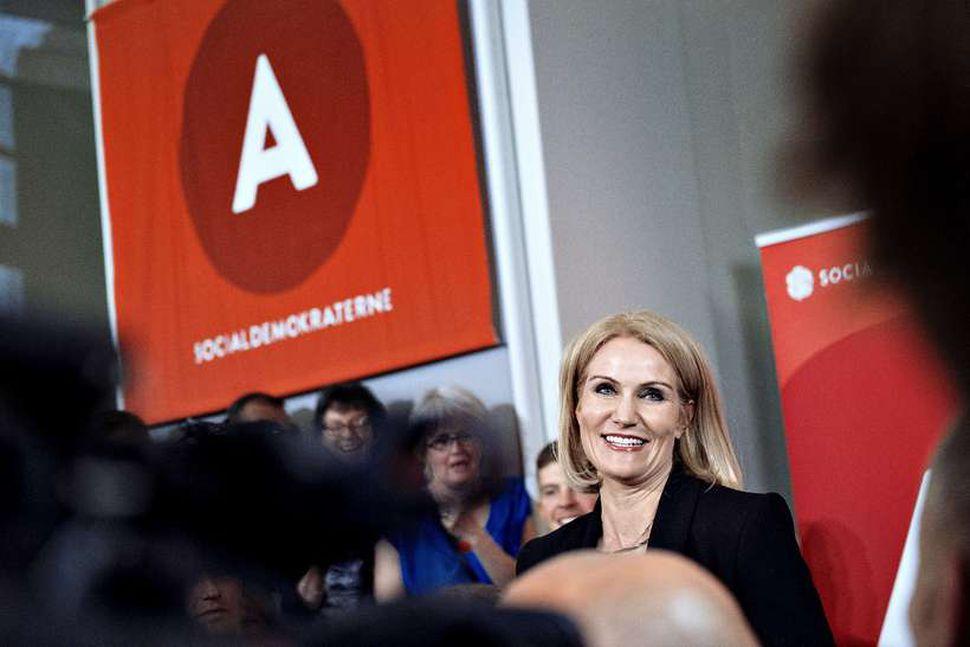 Helle Thorning-Schmidt, forsætisráðherra Danmerkur.