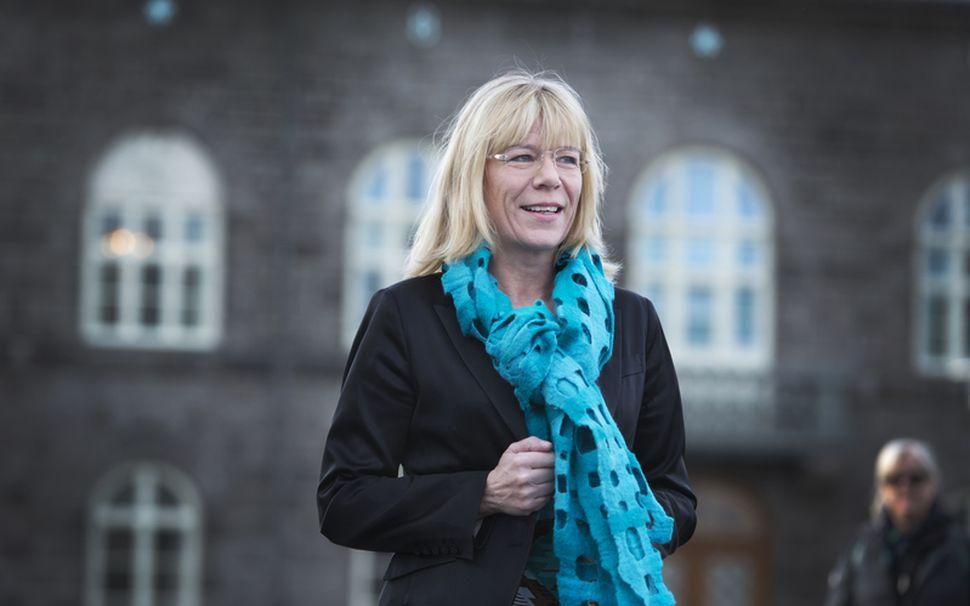 Vigdís Hauksdóttir, formaður fjárlaganefndar Alþingis.