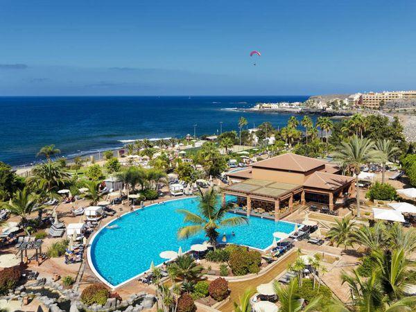 The hotel, H10 Costa Adeje Palace.