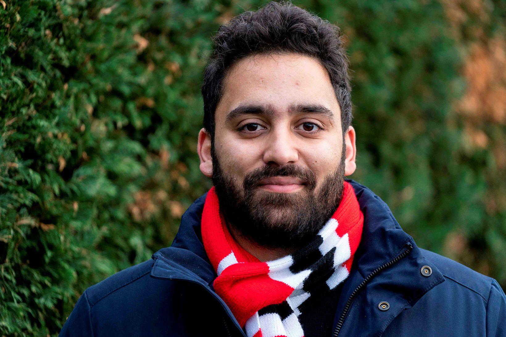 Ali Milani, frambjóðandi Verkamannaflokksins í Uxbridge og South Ruislip.