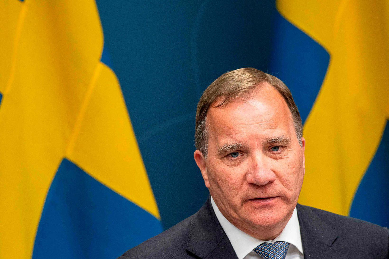 Stefan Löfven, forsætisráðherra Svíþjóðar.