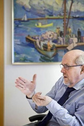 Jón Bjarnason sjávarútvegsráðherra.