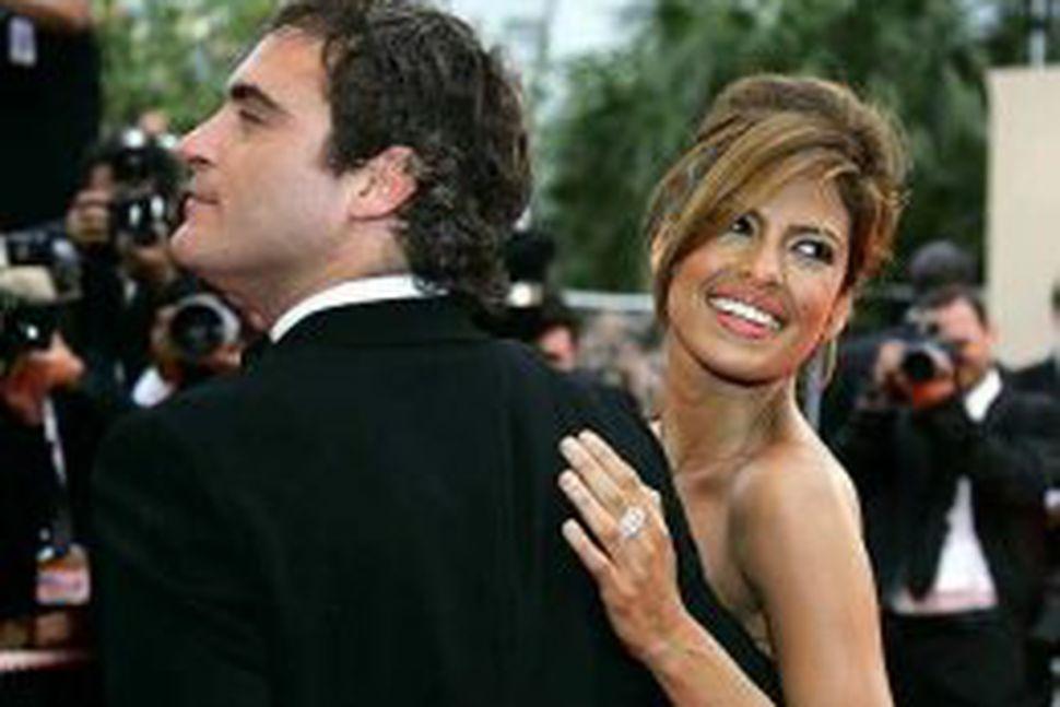Joaquin Phoenix og Eva Mendes voru m.a. í Cannes.