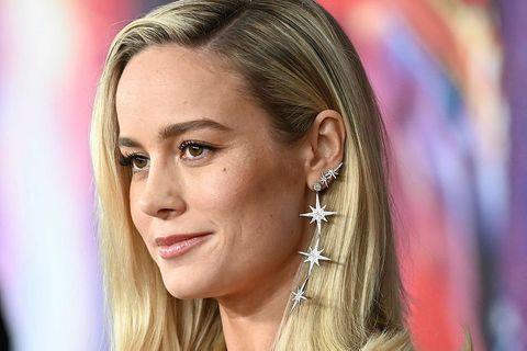 Brie Larson nýtur nú lífsins.