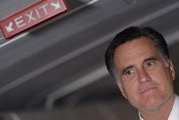 Mitt Romney, forsetaefni Repúblikanaflokksins í forsetakosningunum í Bandaríkjunum 6. nóvember.