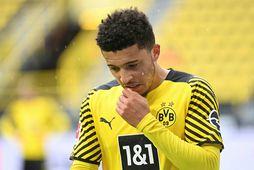 Borussia Dortmund vill fá hærri upphæð fyrir Jadon Sancho.