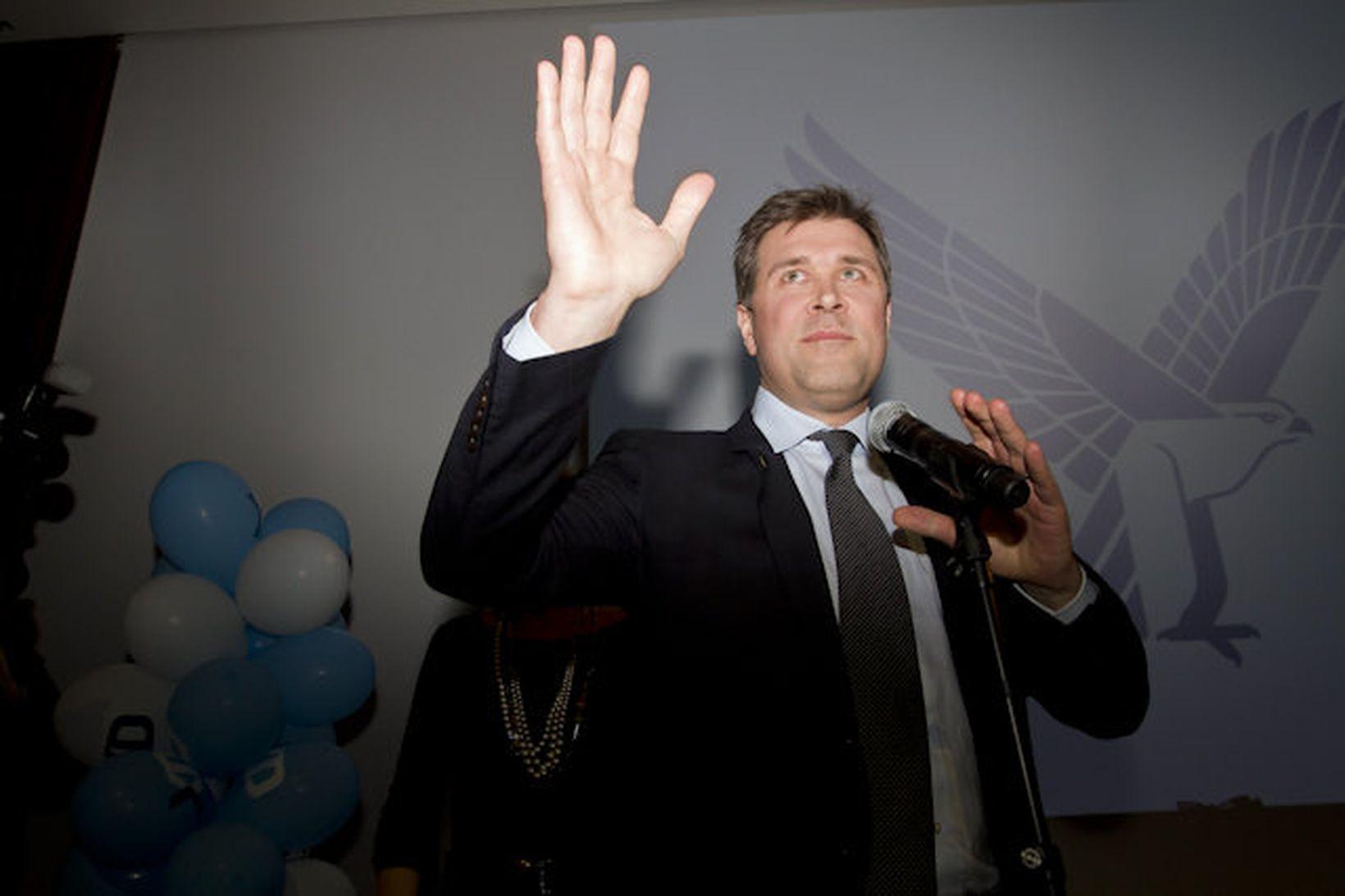 Bjarni Benediktsson formaður Sjálfstæðisflokksins.