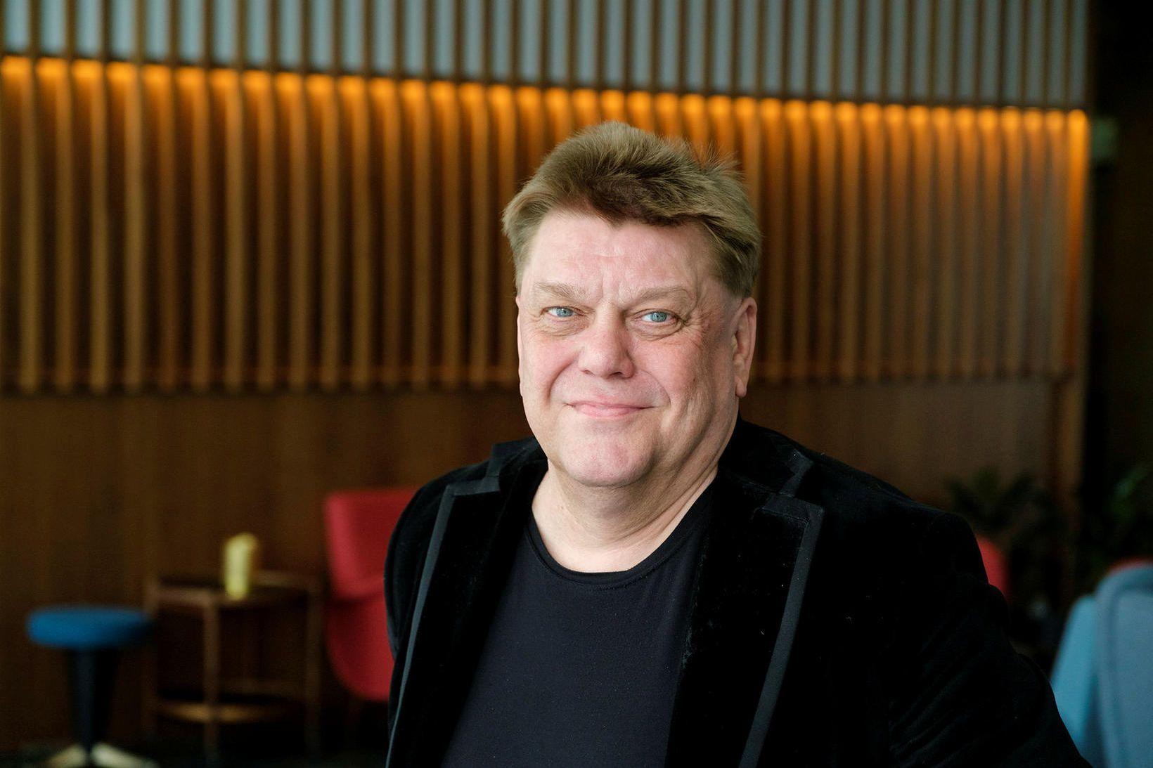 Vilmundur Hansen garðyrkjumaður og blaðamaður á Bændablaðinu.