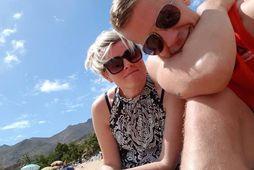 Jóhanna og Svali fluttu til Tenerife fyrir tveimur árum.