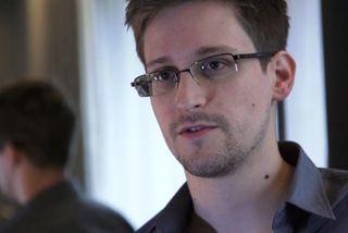 Bandarískri uppljóstrarinn Edward Snowden.