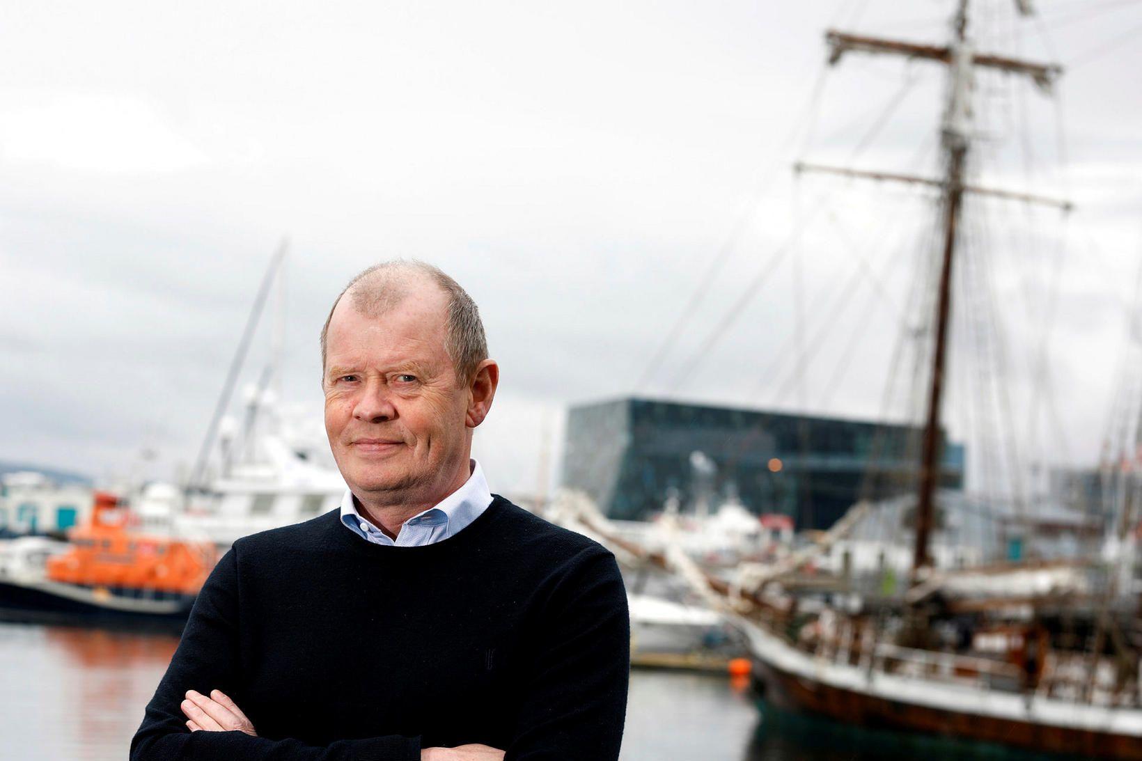 Guðmundur Helgi Þórarinsson, formaður Félags vélstjóra og málmtæknimanna.