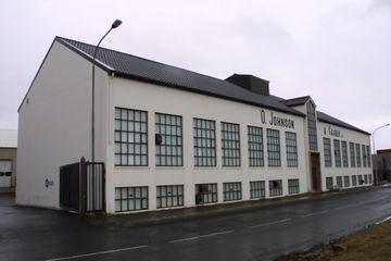 Gamla kaffibrennsluhúsið við Sætún