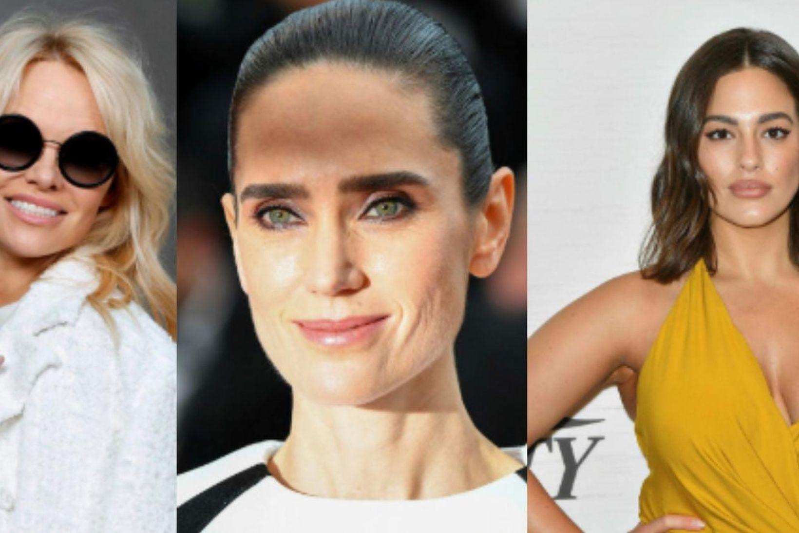 Pamela Anderson, Jennifer Connelly og Ashley Graham fæddu börn sín …