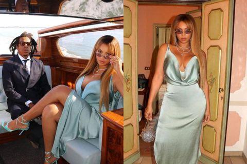 Jay-Z og Beyoncé voru á Ítalíu um helgina.