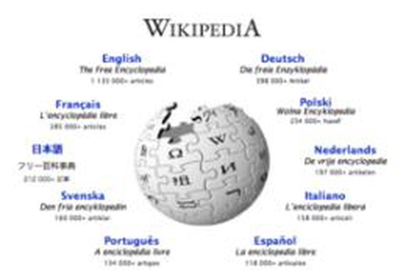 Alfræðiorðabókin Wikipedia er geysivinsæl