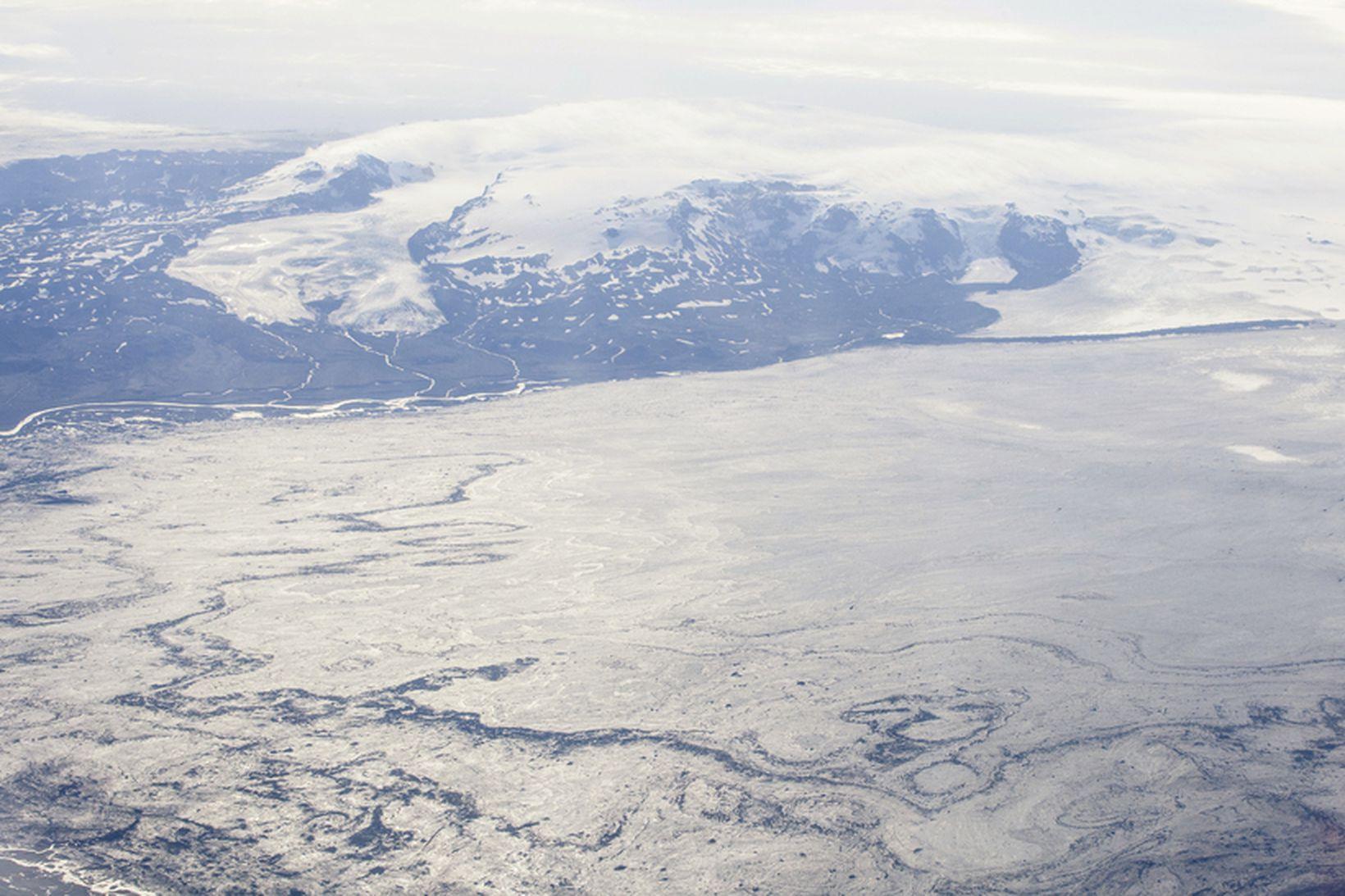 Enn er mikil virkni í Bárðarbungu