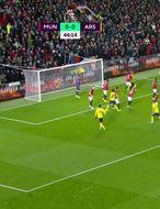 Mörkin í leik United og Arsenal (myndskeið)