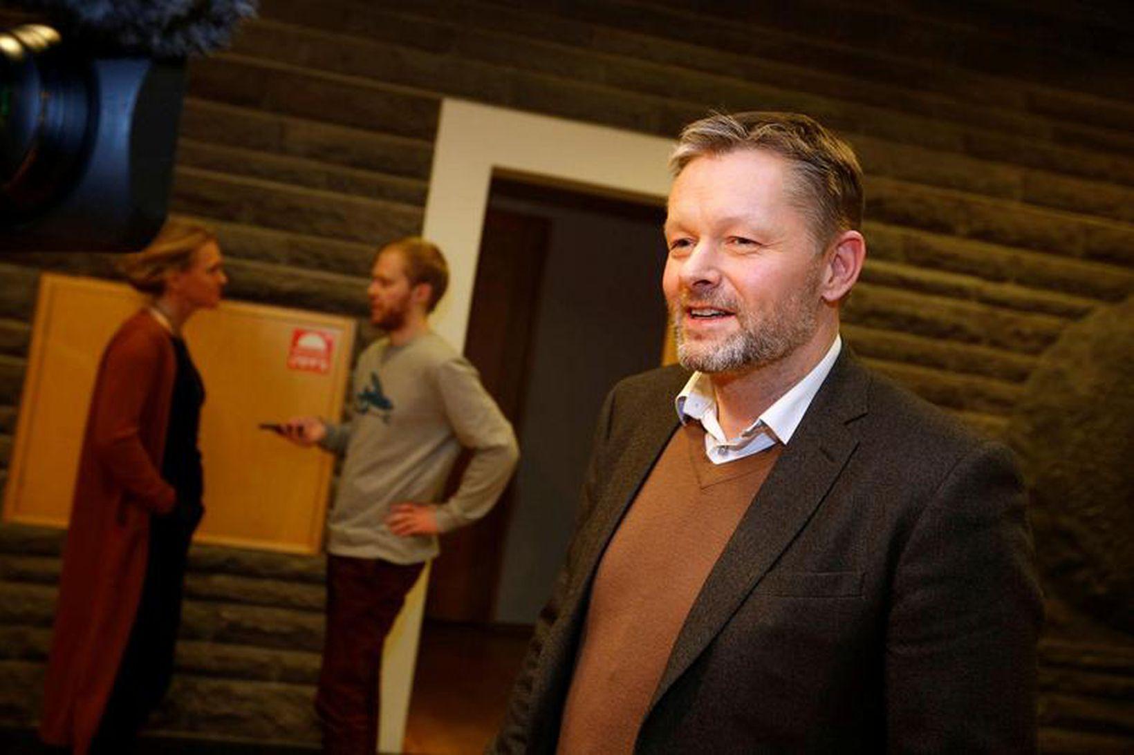 Þorsteinn Víglundsson félagsmálaráðherra.