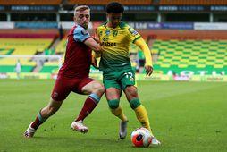 Liverpool vill kaupa Jamal Lewis af Norwich.