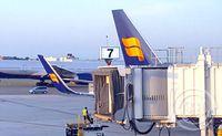 Icelandair á JFK-flugvellinum í New York