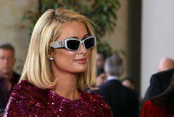 Paris Hilton á ekki von á barni.