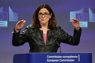 Cecilia Malmström, viðskiptastjóri Evrópusambandsins.