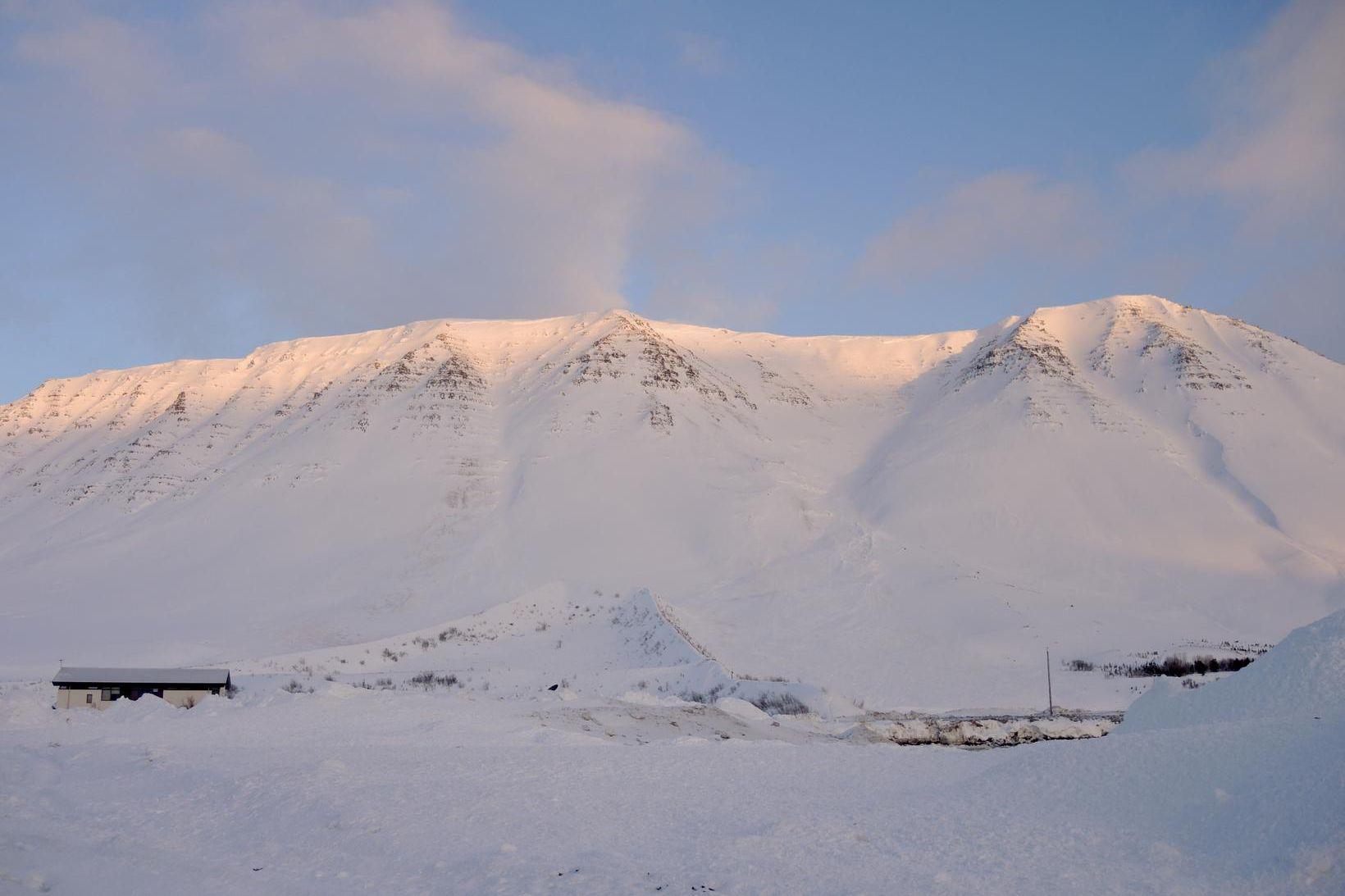Flateyri stendur við Önundarfjörð.