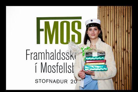 Helga Halldórsdóttir, dúx.