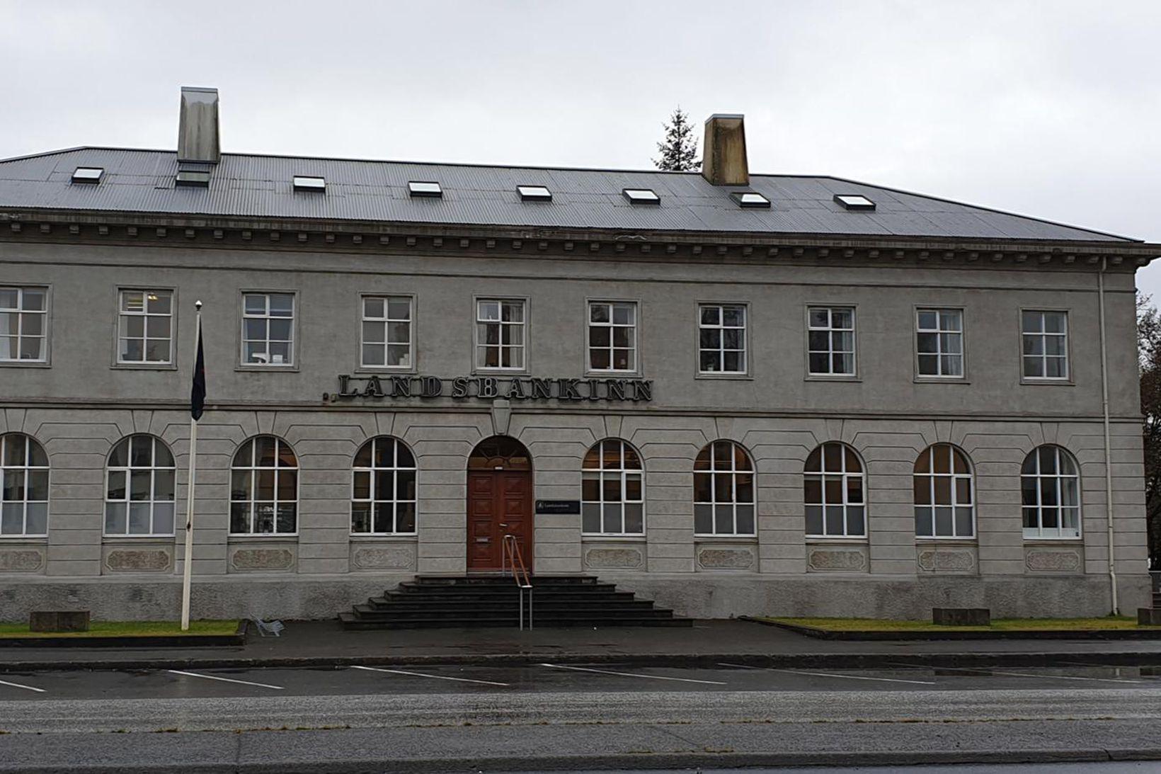 Hús Landsbankans á Selfossi hefur verið auglýst til sölu.